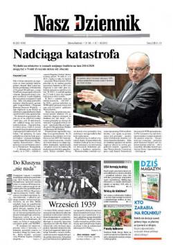 Sobota-Niedziela, 31 VIII – 1 IX 2013, Nr 203 (4742)