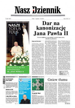 Środa, 4 grudnia 2013, Nr 282 (4821)
