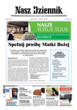 Sobota-Niedziela, 7-8 grudnia 2013, Nr 285 (4824)