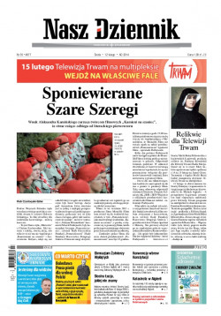 Środa, 12 lutego 2014, Nr 35 (4877)