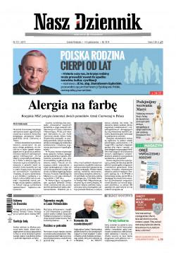 Sobota-Niedziela, 4-5 października 2014, Nr 231 (5073)