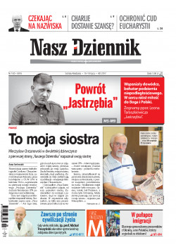 Sobota-Niedziela, 15-16 lipca 2017, Nr 162 (5915)