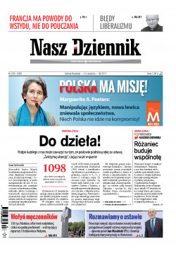 Sobota-Niedziela, 2-3 września 2017, Nr 203 (5956)