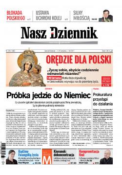 Sobota-Niedziela, 9-10 września 2017, Nr 209 (5962)