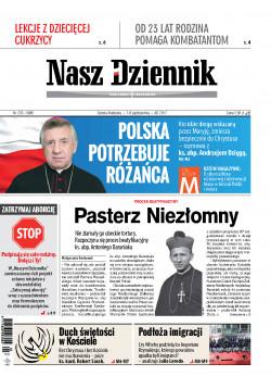 Sobota-Niedziela, 7-8 października 2017, Nr 233 (5986)
