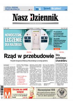 Sobota-Niedziela, 9-10 grudnia 2017, Nr 285 (6038)