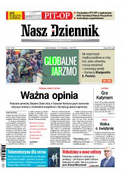 Sobota-Niedziela, 21-22 kwietnia 2018, Nr 92 (6146)