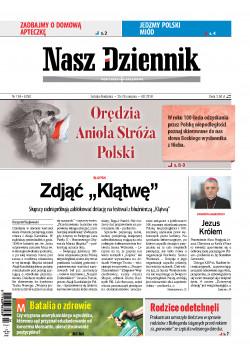 Sobota-Niedziela, 25-26 sierpnia 2018, Nr 196 (6250)