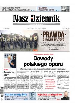 Sobota-Niedziela, 1-2 września 2018, Nr 202 (6256)