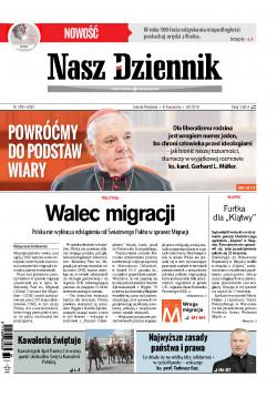 Sobota-Niedziela, 8-9 września 2018, Nr 208 (6262)