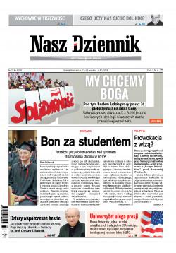 Sobota-Niedziela, 15-16 września 2018, Nr 214 (6268)