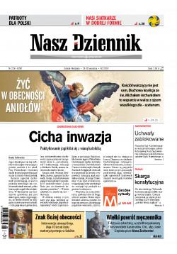 Sobota-Niedziela, 29-30 września 2018, Nr 226 (6280)