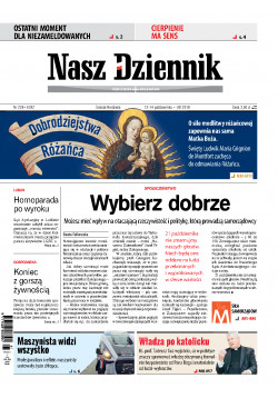 Sobota-Niedziela 13-14 października 2018, Nr 238 (6292)