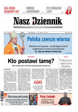 Sobota-Niedziela, 17-18  sierpnia 2019, Nr 190 (6546)