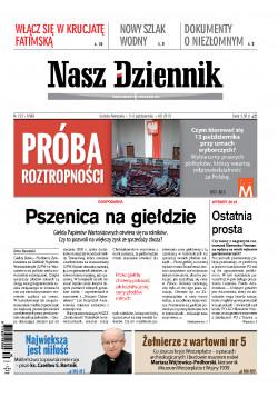 Sobota-Niedziela, 5-6 października 2019, Nr 232 (6588)