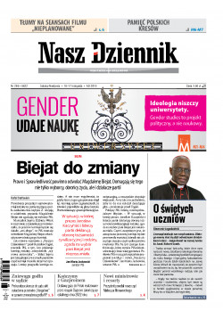 Sobota-Niedziela, 16-17 listopada 2019, Nr 266 (6622)