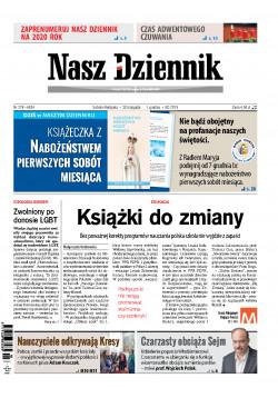 Sobota-Niedziela, 30 listopada  –  1 grudnia 2019, Nr 278 (6634)