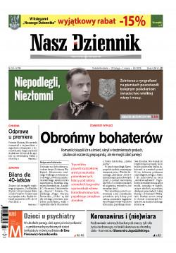 Sobota-Niedziela, 29 lutego – 1 marca 2020, Nr 50 (6708)