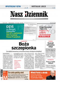 Sobota-Niedziela, 14-15 marca 2020, Nr 62 (6720)