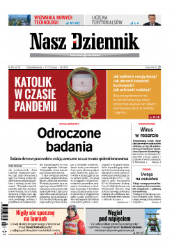 Sobota-Niedziela, 21-22 marca 2020, Nr 68 (6726)