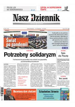 Sobota-Niedziela, 25-26 kwietnia 2020, Nr 96 (6754)