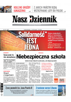 Sobota-Niedziela, 29-30 sierpnia 2020, Nr 201 (6859)
