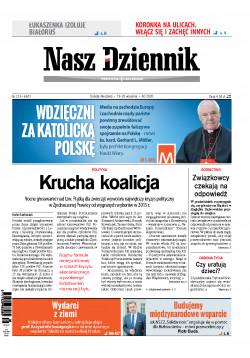 Sobota-Niedziela, 19-20 września 2020, Nr 219 (6877)