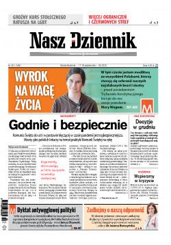 Sobota-Niedziela, 17-18 października 2020, Nr 243 (6901)