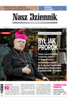 Sobota-Niedziela, 31 października  – 1 listopada 2020, Nr 255 (6913)