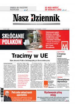 Sobota-Niedziela, 21-22 listopada 2020, Nr 272 (6930)