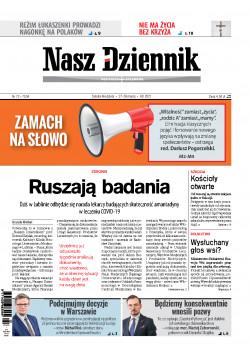 Sobota-Niedziela, 27-28 marca 2021, Nr 72 (7034)